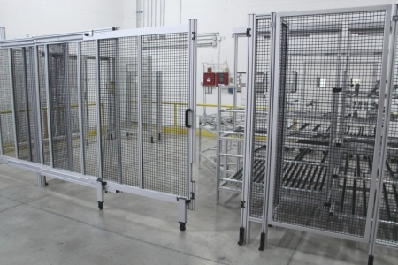 Extruded Aluminum Safety Guarding