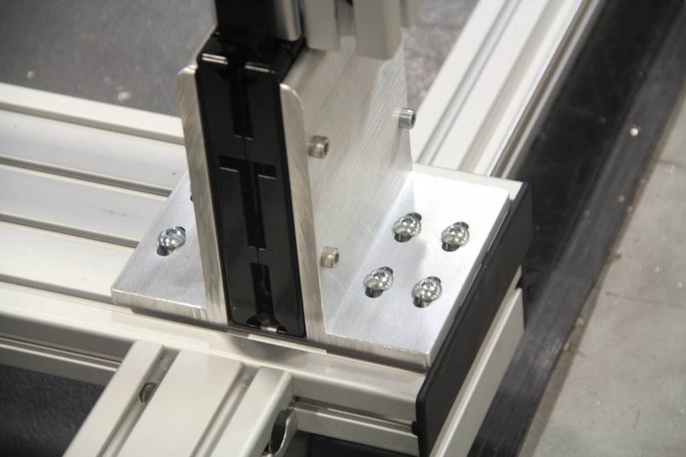 Panel machining for extruded aluminum