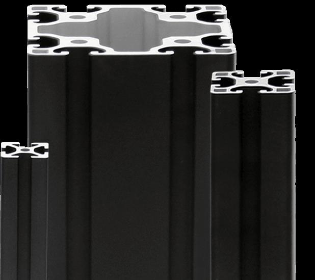 Black Aluminum Framing