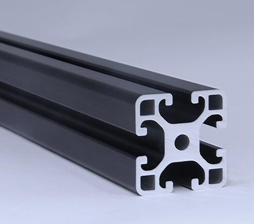 Line 8 40x40 Black Profile