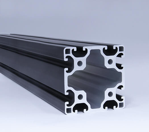 Line 8 80x80 Black Profile