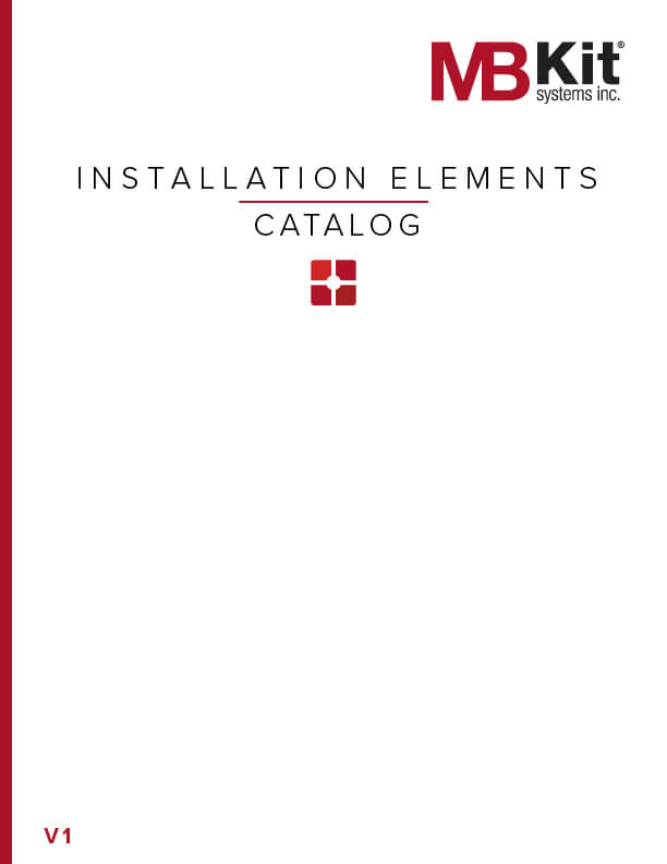 Installation Elements Catalog