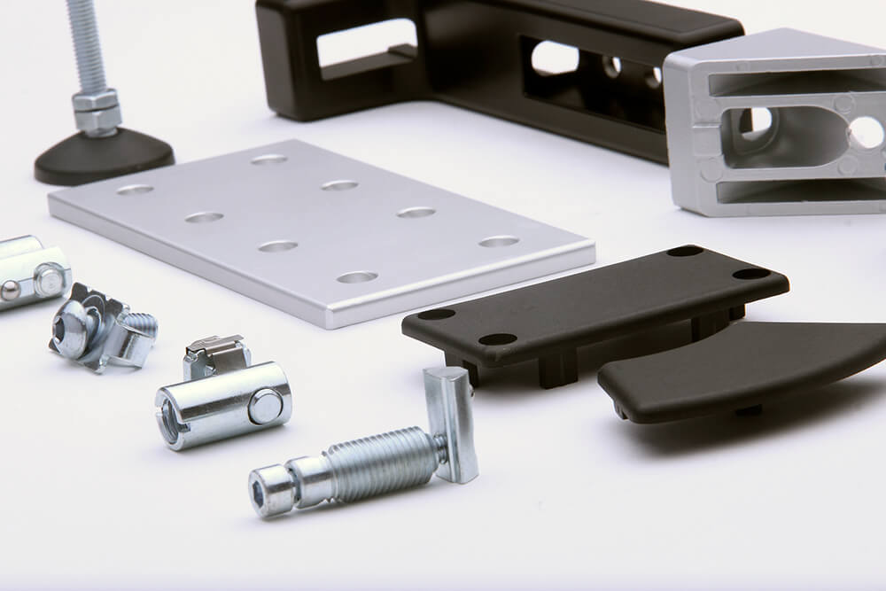 Extruded Aluminum T-Slot Components
