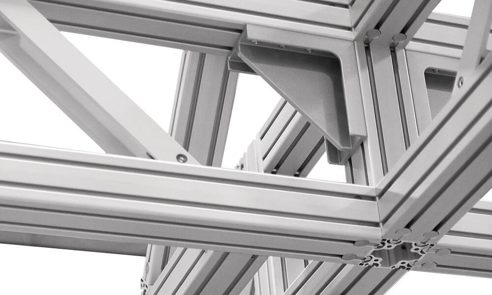 T-slot Modular Aluminum Structures