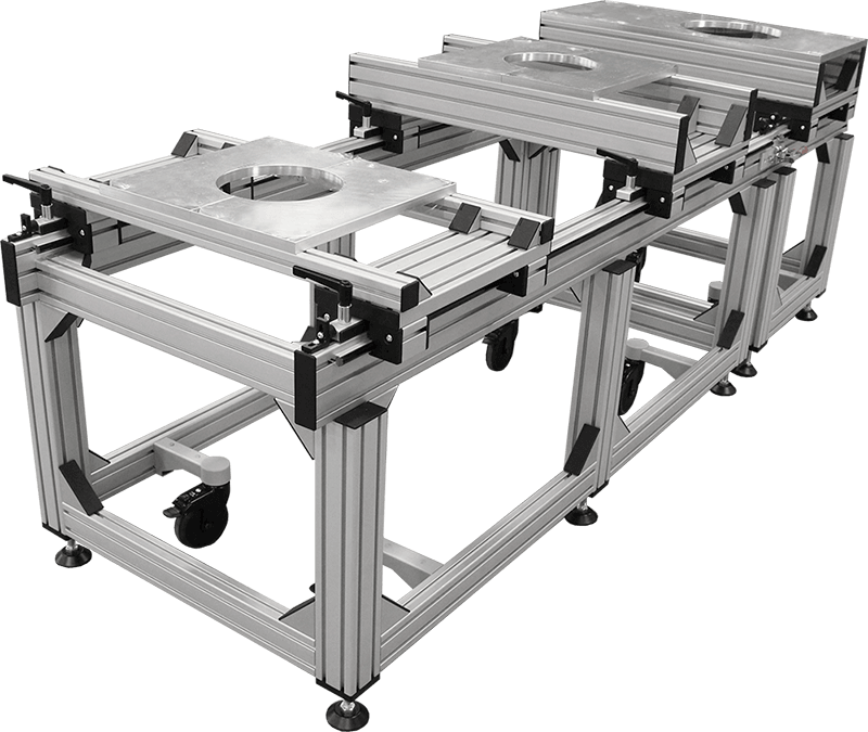 Structural aluminum framing