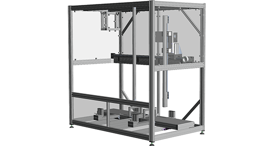 Linear Motion Safety Enclosure