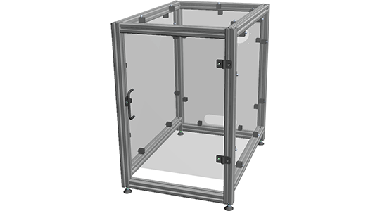 Accessible Machine Enclosure