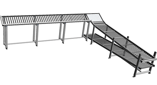 Roller Conveyor Assembly