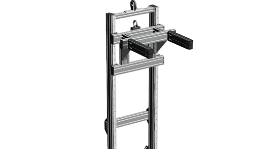 Mobile Material Transport Cart