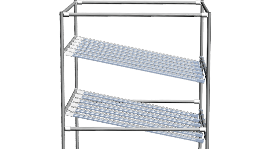 Lean Production Flow Rack
