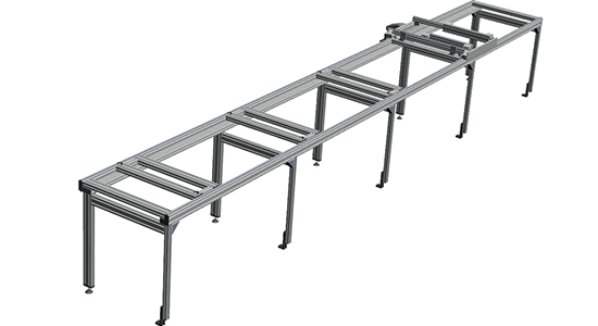 Dynamic Aluminum Profile Structures
