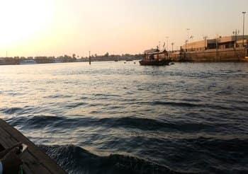 dubai-beautiful-view-abra-creek-water
