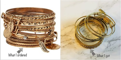 bangles-misleading-product-online-shopping