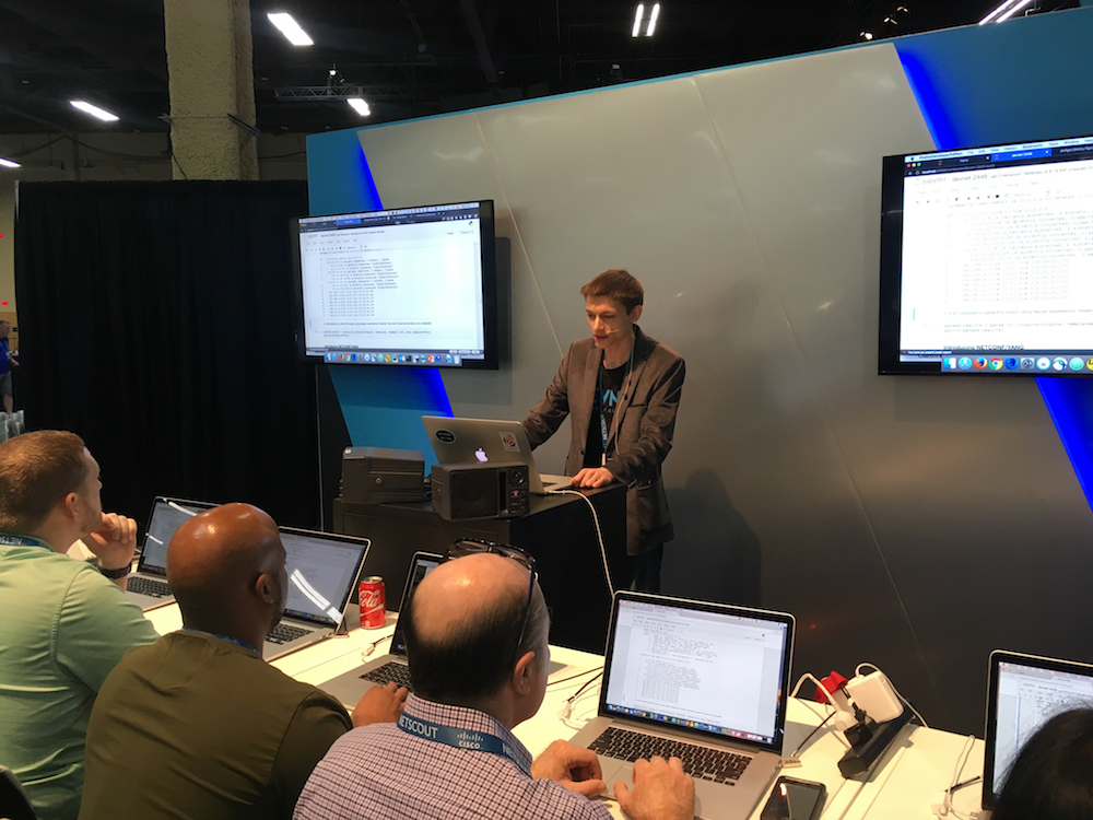 DEVNET-2449: Python for Enterprise Network Elements @ CLUS2017