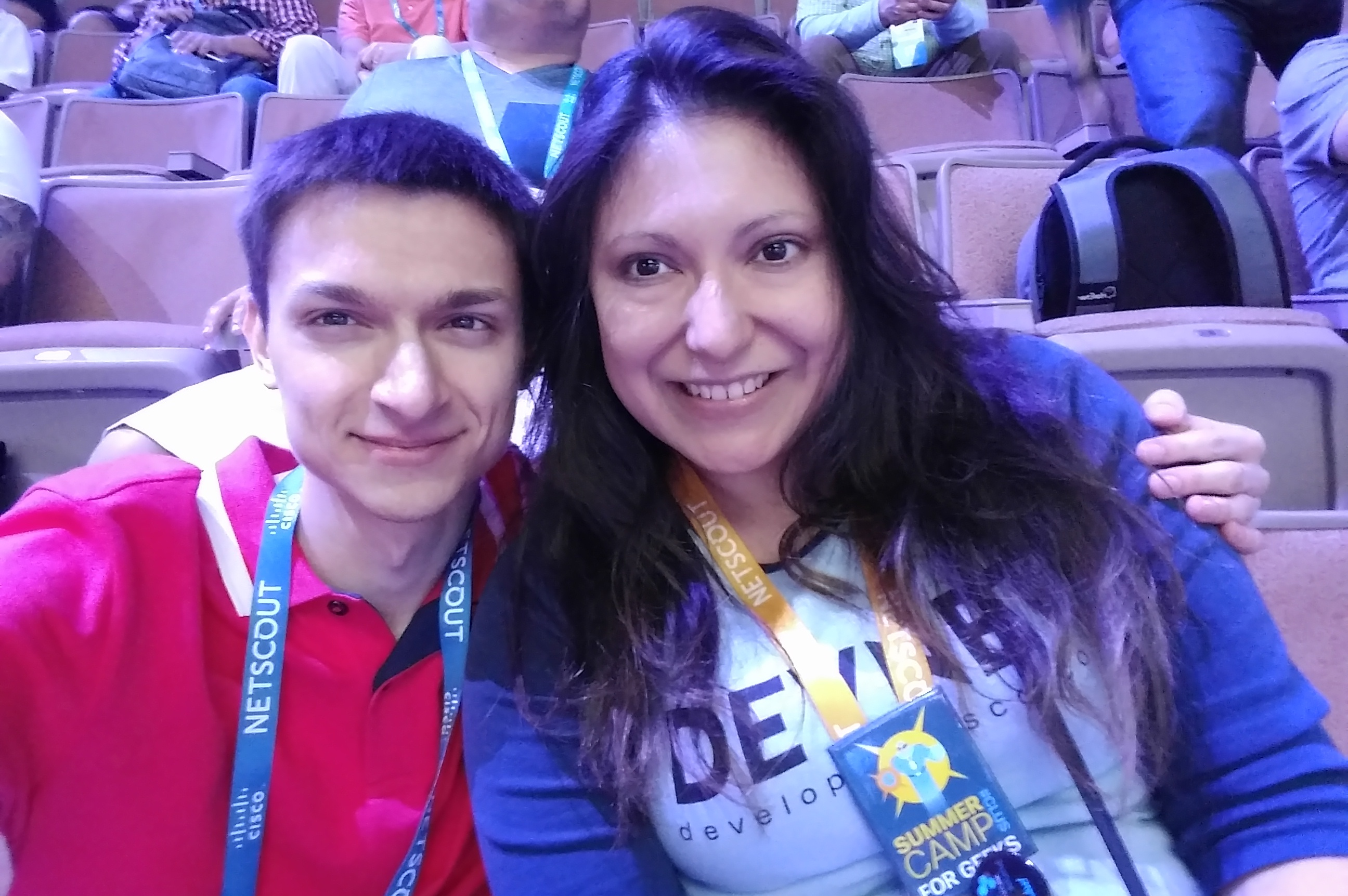 Silvia and Dmitry @ CLUS2017