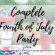 4th of july, independence day, holiday, lifestyle, america, usa, american, celebrate, party, idea, inspiration, inspo, decoration, decor, wreath, centerpieces, dollar store, easy affordable, DIY, do it yourself, red, white, blue, stars, stripes, pool, bbq, summer, heat, weather, frozen, booze, water, games, activities, cornhole, quiz cards, food, burgers, hot dogs, wings, buffet, dessert, cupcakes, strawberry, blueberry, cream cheese, cake, bar, drinks, alcoholic, non-alcoholic, fruity, refreshing, craft, music, playlist, Island in the sun - Weezer, Let Me Be Your Lover - Enrique Iglesias Ft Pitbull, Supermassive Black Hole - Muse, Get Lucky - Daft Punk Ft. Pharrell, Gin and Juice - Snoop Dogg, Bailando - Enrique Iglesias Ft Sean Paul, Decsemer Bueno, Gente De Zona, Beautiful Girls - Sean Kingston, Smooth - Santana Ft. Rob Thomas, Temperature - Sean Paul, Take It Off - Lil Jon Ft. Yandel & Becky G, Echame La Culpa - Luis Fonsi Ft. Demi Lovato, One More Time - Daft Punk, Shots - LMFAO Ft. Lil Jon, Work It - Missy Elliott, fireworks, sparklers, kids, kiddos, family, fun, 2018, july