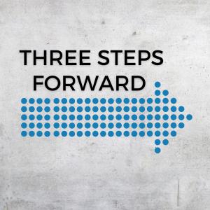 Photo of 3 Steps Forward