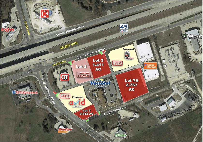 45 AND AW GRIMES BLVD Round Rock, TX 78664 - alt image 3