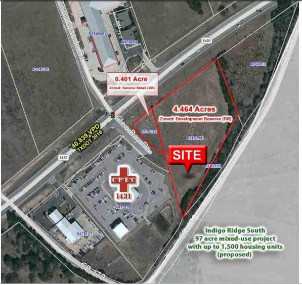 SEC of FM 1431 & Cloe Bay Dr Cedar Park, TX 78613 - alt image 2