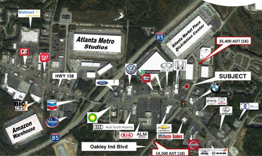 6740 Oakley Industrial Blvd Union City, GA 30291 - alt image 2