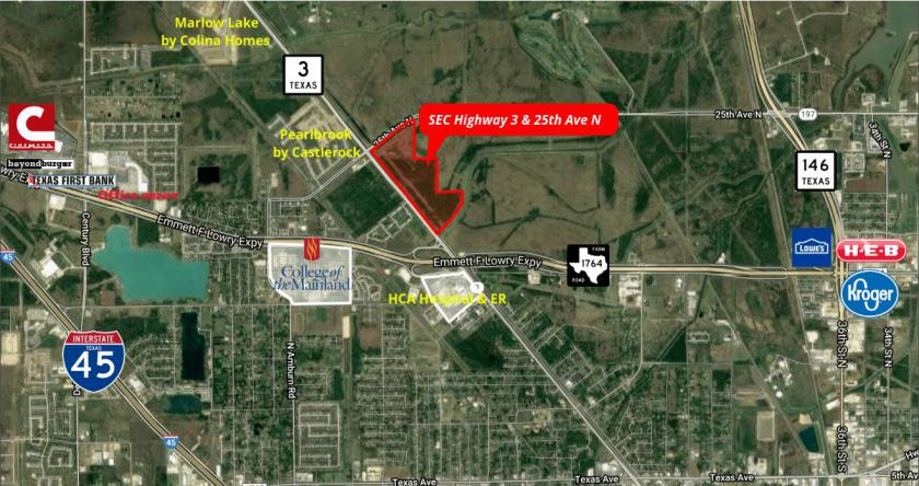 SEC of Highway 3 and 25th Ave N Texas City, TX 77591 - main image