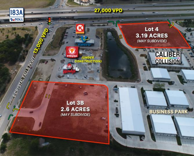 10745 East Crystal Falls Parkway Leander, TX 78641 - main image