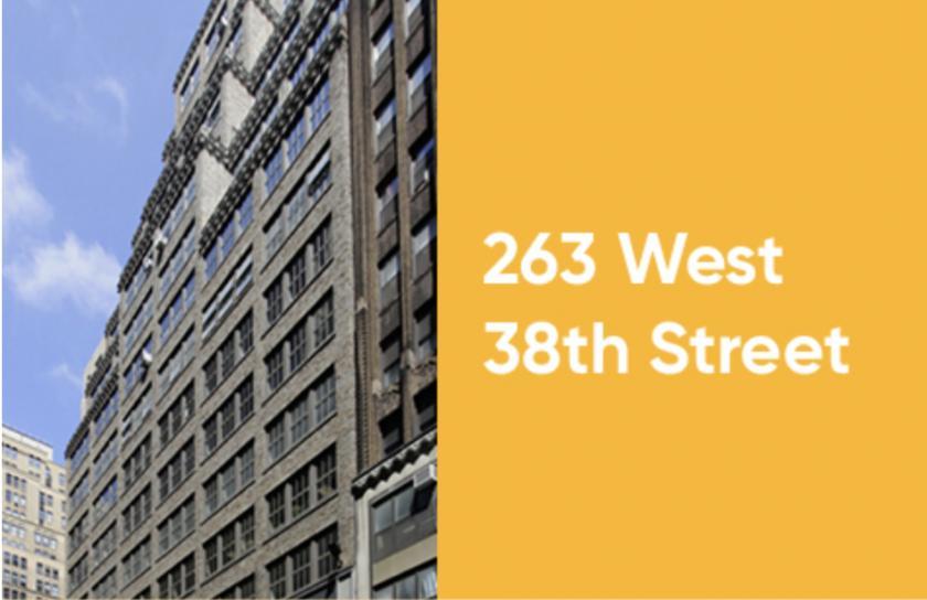 263 West 38th Street New York, NY 10018 - main image