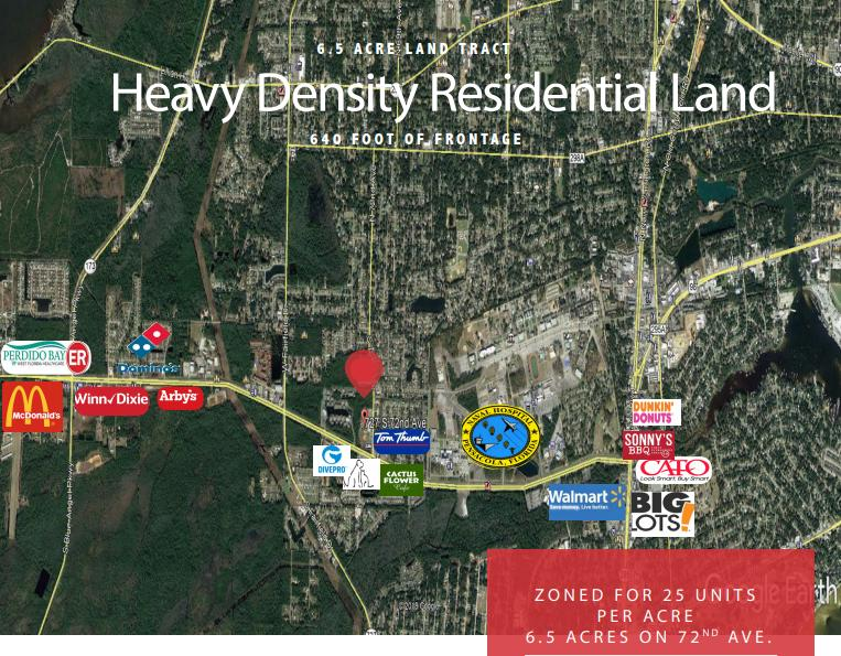 727 South 72nd Avenue Pensacola, FL 32506 - main image