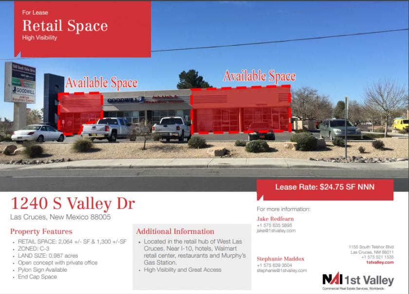1240 South Valley Drive Las Cruces, NM 88005 - main image