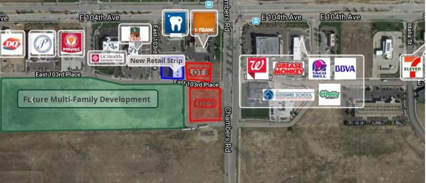 SWC 104th and Chambers Rd Commerce City, CO 80022 - main image