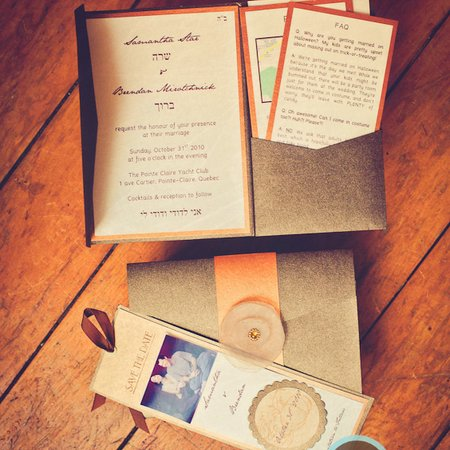 Les Invitations Paper Candy
