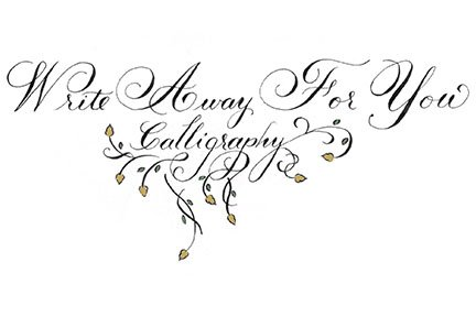 Write Away For You calligraphy