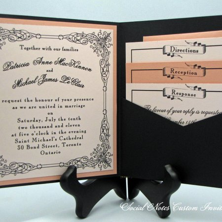 Social Notes Custom Invitations