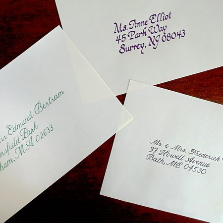Couture Calligraphy