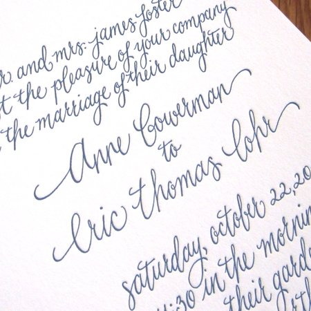 Kristen Henderson Calligraphy