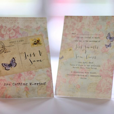 Wedding and Occasion Stationery with a twist....