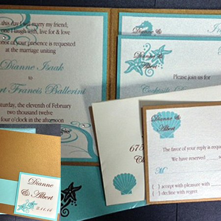 Cartes Amour Custom Invitations