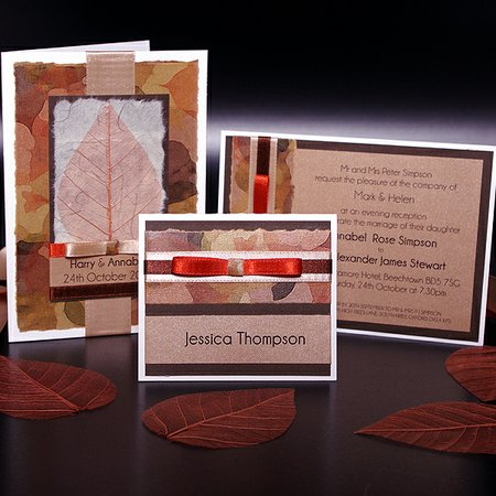 Gibson Doyle Handmade Wedding Invitations