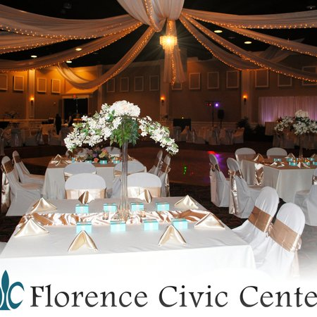 the uptown ballroom at the florence civic center