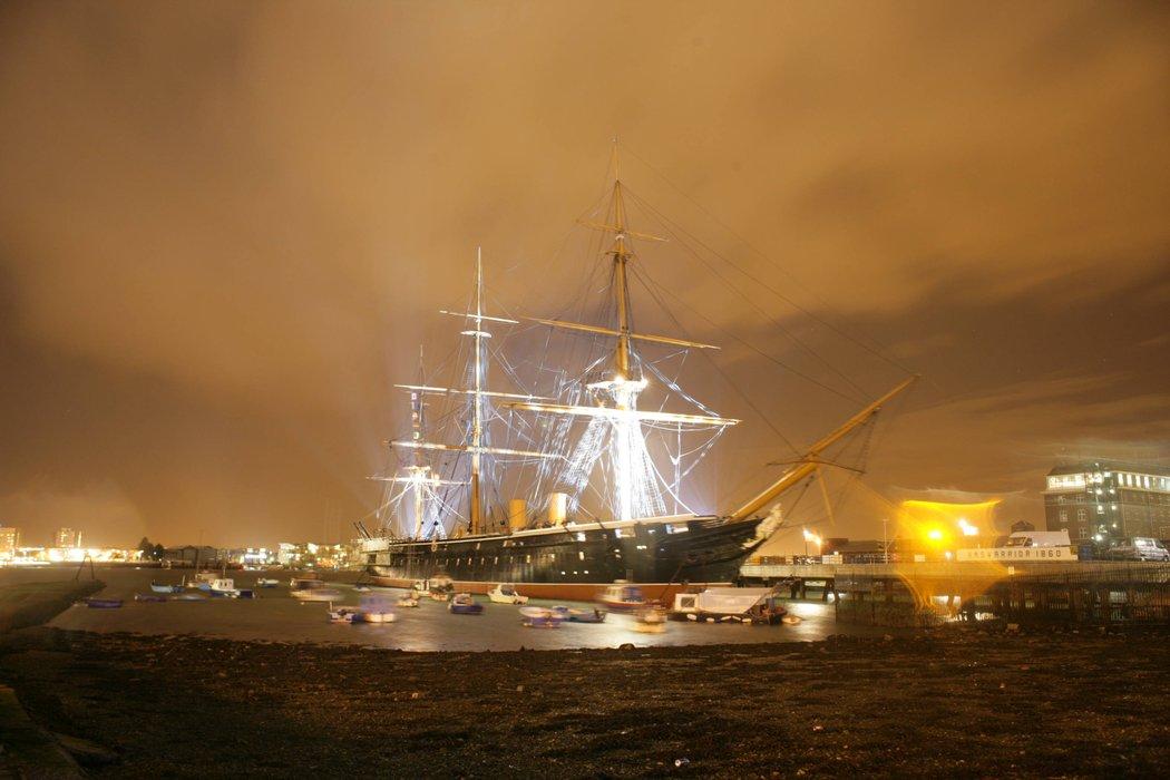 HMS Warrior 1860's profile image