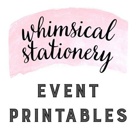 Whimsical Stationery