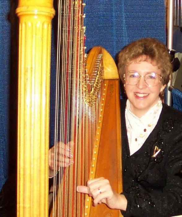 Harpist Serena O'Meara's profile image