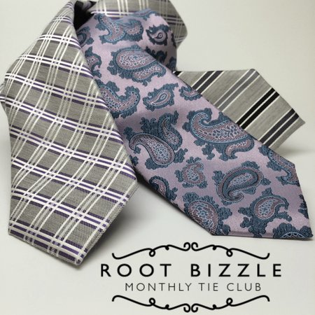 Root Bizzle: Monthly Tie Club