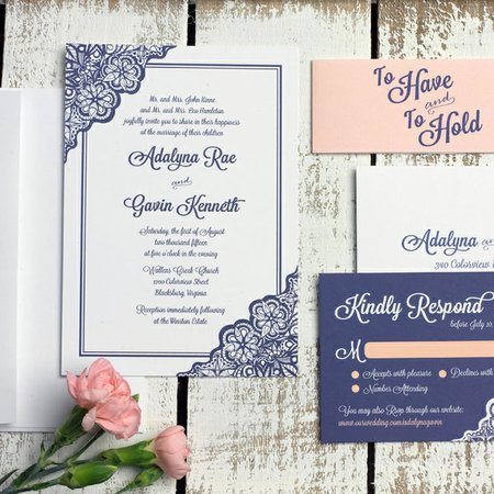 Custom wedding invitations ct