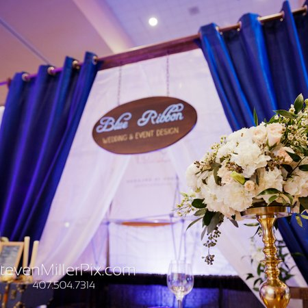 Blue Ribbon Wedding Floral