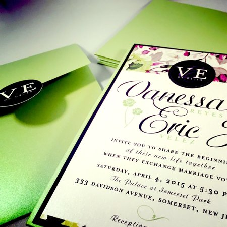 Paper Rose Invitations