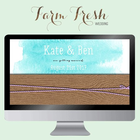 Farm Fresh Wedding