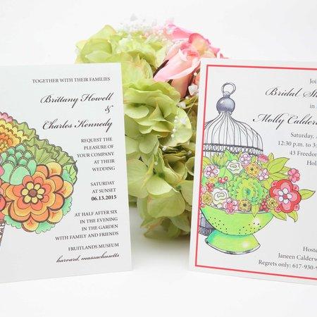 Letterpress wedding invitation vendors weddinginvitelove joyously yours custom invitations reheart Choice Image