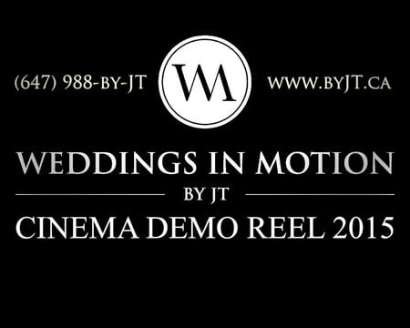 Weddings in Motion by JT