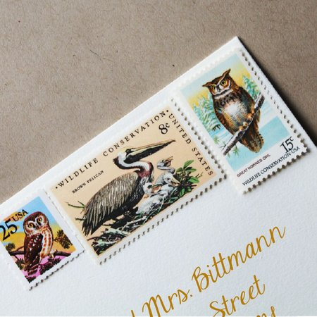 Mail Maid Stamps